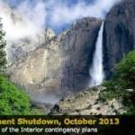 Yosemite closed by government shutdown