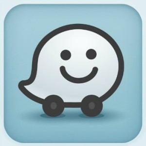 The Waze icon.