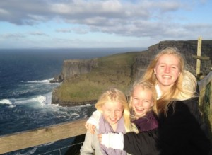 the girls at moher